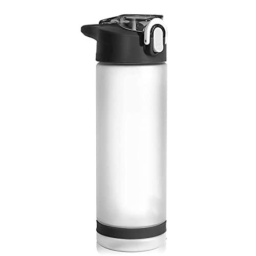 Botellas de Agua Botellas con Gimnasio Deportes Ciclismo Correr Large 850ml BPA Free Plastic Hidration Frasco Taza Botella de Agua