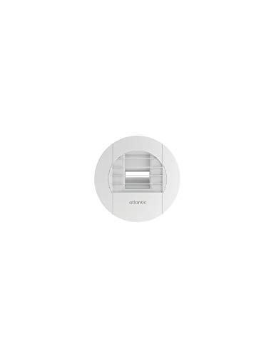 bouche d'extraction hygroréglable - sdb - diamètre 125 mm- 10 / 40 m3/h - atlantic 542464