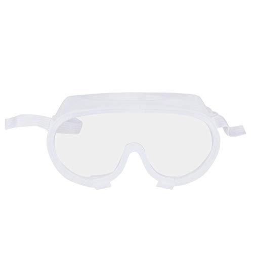 Buiten Dragen Oogbescherming Veiligheidsbril Transparant Gehele afdichting Anticondens Anti-speekselbril Veiligheidsbril 360 ° Ogenbescherming(1#)