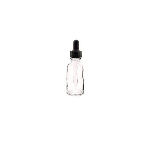 Hiinice 12 PC Transparente Jar Botella de Aceite Esencial con el cuentagotas de Maquillaje cosmético de la Muestra Recipiente Botella Pot 30ml