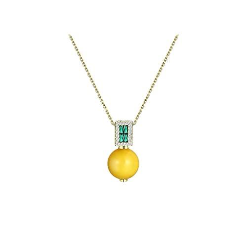 WYZQ Collar de joyería con Colgante para Mujer Hermosos Collares llamativos Simplicidad Regalos de San Valentín para el día de la Madre Declaración, joyería