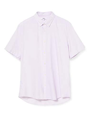 Marca Amazon - find. Camisa Oxford de Manga Corta Hombre