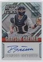 Grayson Greiner #65/199 (Baseball Card) 2014 Panini Prizm Perennial Draft Picks - Prospect Signatures Prizms - Press Proof #16