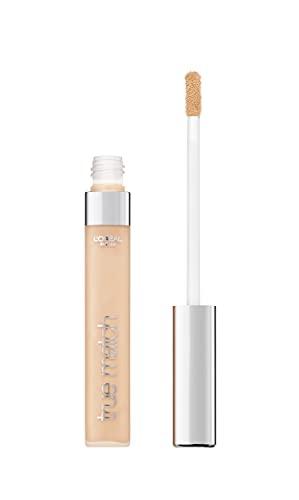 L'Oréal Paris Abdeckstift, Concealer gegen Augenringe und kleine Makel, Perfect Match, 1.R/1.C - Rose Ivory, 6,8 ml