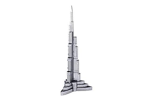 Fascinations Metal Earth Burj Khalifa Building 3D Metal Model Kit