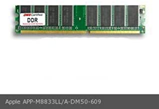 DMS Compatible/Replacement for Apple M8833LL/A iMac (15 in, September 2003) 512MB DMS Certified Memory DDR PC2700 333MHz 64x64 CL2.5 2.5v 184 Pin DIMM - DMS