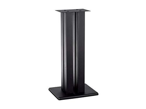 Monoprice Monolith Speaker Stands (Each), Black, 32 Inch