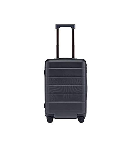 YIA Maleta para hombre y mujer de 20 pulgadas de 24 pulgadas de rueda universal puede sentarse en el maletín de la carretilla fuerte contraseña caja de embarque de distancia corta de 24 pulgadas gris