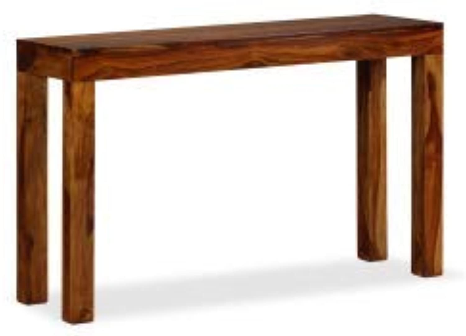 VidaXL Solid Sheesham Wood Console Table 120x35x75cm Hallway Telephone Stand