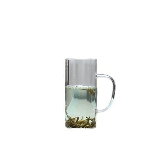 zhongzhichengcheng Tazas Personalizadas Vaso Transparente Whisky Té Cerveza Doble Creativo Cóctel Resistente Al Calor Vaso De Vodka Vaso De Vino