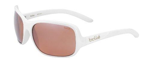 bollé Brille Kassia - Gafas de Ciclismo, Color Blanco Brillante/Negro, Talla única