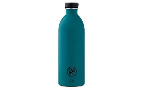 Trinkflasche 'Urban Bottle' aus Edelstahl 1 Liter, Farbe:Stone Atlantic Bay