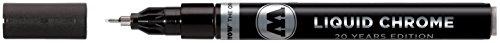 Rotulador Molotow Liquid Chrome (con tinta especial para un verdadero efecto espejo) 1 mm