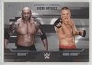 Batista; Brock Lesnar #27/50 (Trading Card) 2017 Topps WWE Undisputed - Dream Matches - Silver #D-9