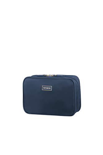 Samsonite Karissa Cosmetic Cases - Trousse à Maquillage, 22 cm, Bleu (Dark Navy)