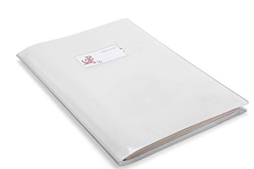 colorosa Copertina Quaderno A4 Bianca