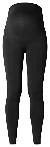 Noppies Seamless Legging Cara 63975 Leggings premamá, Negro, M-L para Mujer