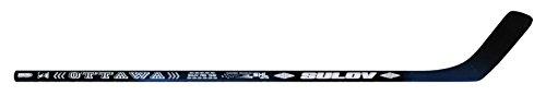 SULOV Erwachsene Eishockeyschläger Ottawa Links Kurve, schwarz, 125cm