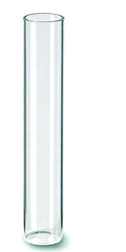 Hobbyfun Tubo de ensayo con base plana 20 x 110 MM [Paquete de 10]