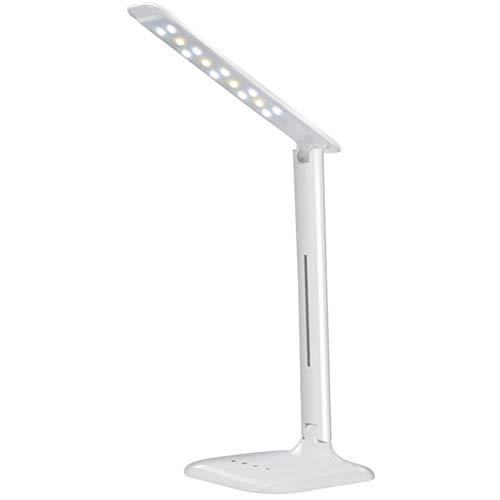 WWWL Lámpara de escritorio Ojos Protección Luz de Mesa Lámpara de Mesa de Cinco Niveles Regulable Sensor Táctil Flexible Mesa de Control LED Lámpara de Escritorio