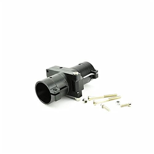LIXIAONMKOP Home Tools Braccio Pieghevole Laterale della Lega di Alluminio del CNC del CNC del Tubo da 25 mm per l agricoltura Protezione dell impianto Drone UAV Multiricotor (Color : 2PCS Black)
