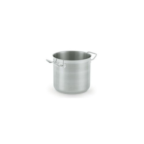Vollrath 3506 21-Gauge Stainless Steel Optio Stock Pot with Cover, 27-Quart by Vollrath
