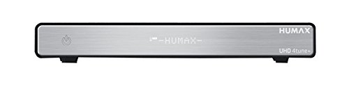 Humax HGS-1000s Ricevitore Digitale Satellitare Ultra HD, HDMI, Wi-Fi, Bluetooth, WLAN cart, LAN, mHp, Nero