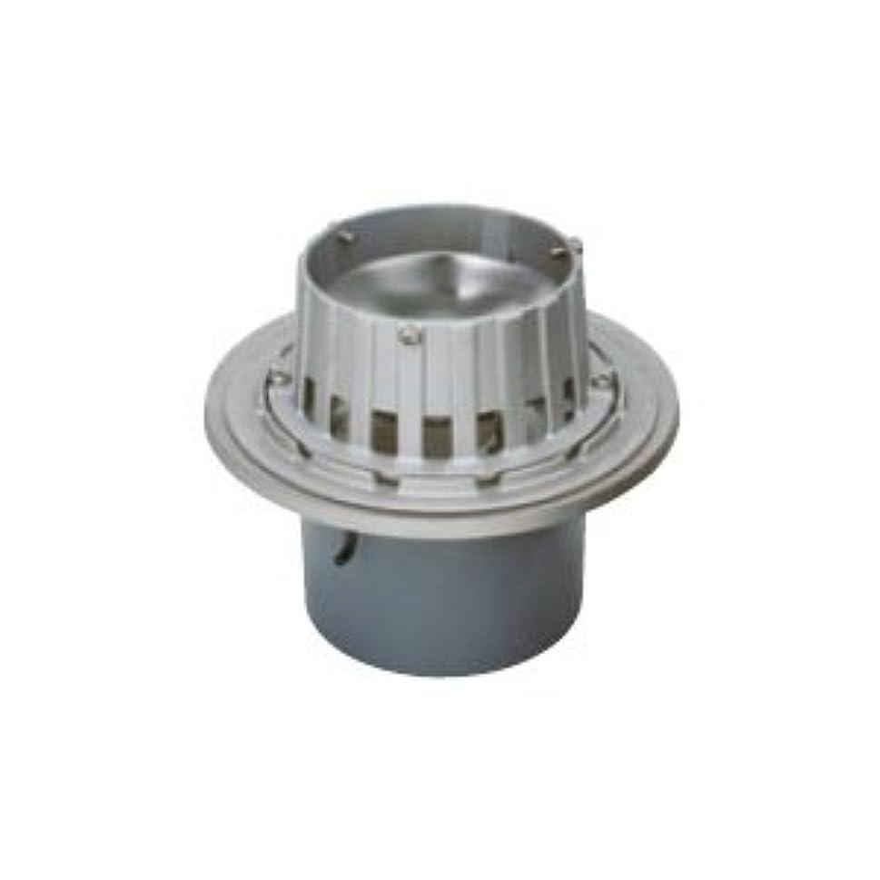 スペードレシピ反発するカネソウ ステンレス鋳鋼製ルーフドレイン たて引き用 打込型(呼称100) メーカー直送代引不可 ESSJ-2-100