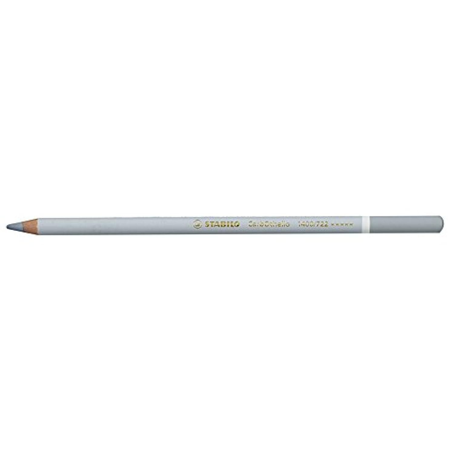 Stabilo CarbOthello Chalk-Pastel Colored Pencil, 4.4 mm - Grey 1