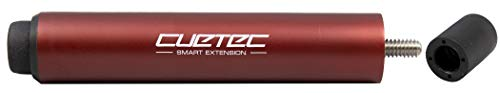 Cuetec Smart Extension Adds 6' to Pool/Billiard Cues - Metallic Red