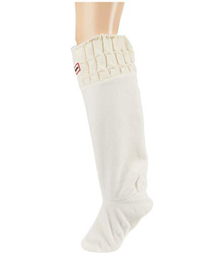 Hunter Calcetines Original Blanco Mujer XL