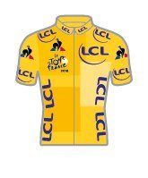 Tour de France 2018 - Pin Trikot - Gelb