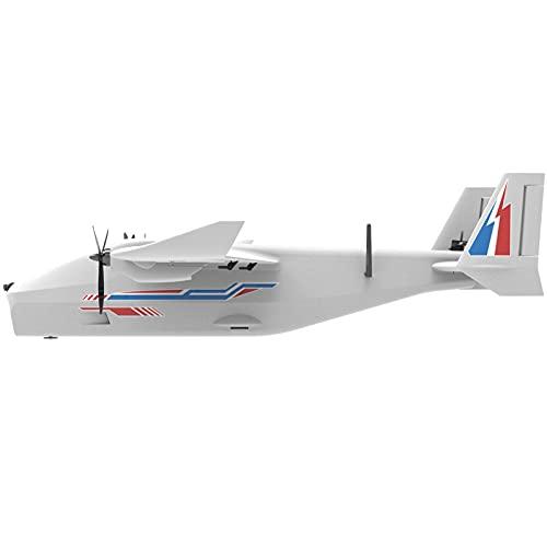 SRR Fit for Aeroplano Whale RC 1255 mm di Apertura alare, Aereo FPV AIO EPP con Fotocamera, Kit di Montaggio Aereo UAV/Giocattoli PNP/FPV, Aereo Modello RC, Aereo RC(Size:Kit Version)