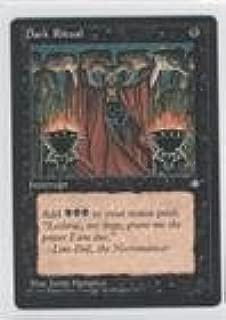 Magic: the Gathering - Dark Ritual (Magic TCG Card) 1995 Magic: The Gathering - Ice Age Booster Pack [Base] #NoN