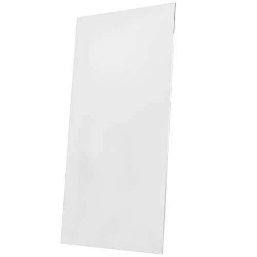 NUOBESTY Acrylic Panels Acrylic PlexiGlass Sheet Clear Cast Plexiglass Plexi Glass Board for Crafting Project Picture Frame