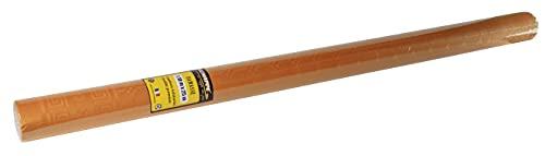 Pro Mantel – Ref R482585I – Mantel desechable Papel Damasco en Rollo 25 m de Largo x 1,20 m de Ancho – Color Mandarina – Papel de Damasco con diseño Universal Chic y clásico