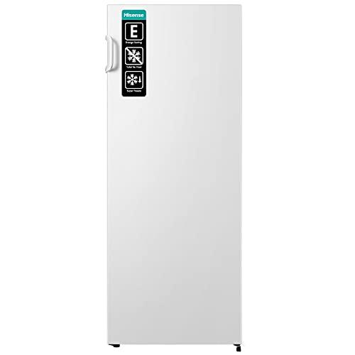 Hisense FV191N4AW2 Gefrierschrank/ TotalNoFrost/ SuperFreeze/ Türalarm/ Multiflow 360°/ BigBox/ 143,4 cm/ Gefrierteil 147 l/ 41 dB/ 205 kWh/ Jahr/ Inox-Look