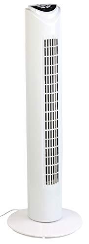 Sichler Haushaltsgeräte Ventilator mit App: Turmventilator mit WLAN und App, für Siri, Alexa und Google Assistant (Smart Home Ventilator)