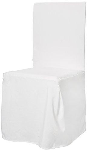 Linder 0509/29/887/45 Monaco Housse de Chaise Polyester Blanc 45 x 130 cm