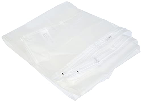 Compactor, Housse de Rangement Extra Plate Dessous de Lit, Transparent, Polypropylène et EVA, 45 x 108 x H. 15 cm, RAN2980