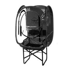 Under the Weather ChairPod 1 Person Sports Tent for Scooters and Soccer Chairs The Original, Patented WeatherPod - Black