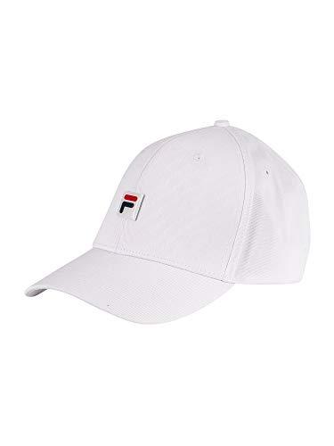 Fila Herren Messen Baseball Cap, Weiß, One Size