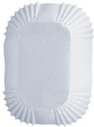 Wilton Baking Cups White Petite Loaf 50 pack (6-Pack)
