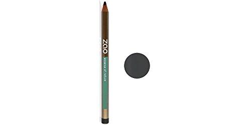 ZAO Holzstift 607 taupe grau Kajal Eyeliner Augenbrauenstift (bio, Ecocert, Cosmebio, Naturkosmetik)