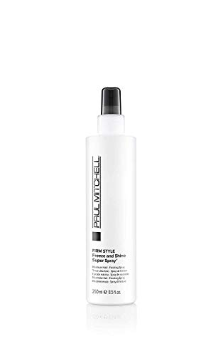 Paul Mitchell Freeze and Shine Super Spray - professionelles Haar-Spray für maximalen Halt, Finishing-Spray fixiert jedes Styling, 250 ml
