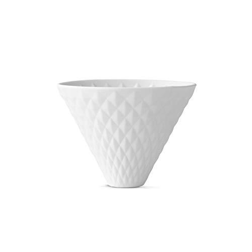 BEEM Pour Over Kaffeefilter zum Hängen - 4 Tassen | Classic Selection | Porzellan