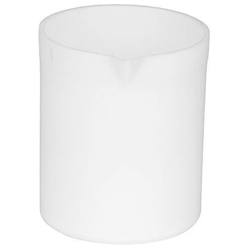 Juego de vasos de plástico no pegajosos, vaso de precipitados PTEE duradero. Vaso de precipitados de tres tamaños diferentes para usar en experimentos de laboratorio(50ML)