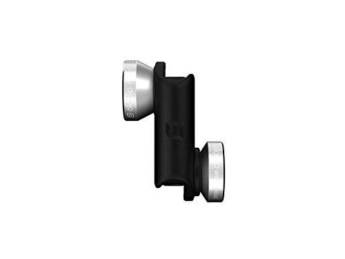 Olloclip - Lenti 4 in 1, Obbiettivo per iPhone 6/6s/6 Plus/6s Plus, Foto & Filmati in Alta Definizione, Design Compatto...