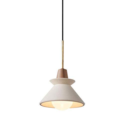 Z iluminación Nordic Simple lámpara de la Personalidad Creativa de la Sala Dormitorio Art Bar Restaurante del Pasillo del Pasillo lámpara de cabecera Fashion (Color : Warm Light)