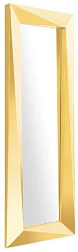 Casa Padrino Luxus Spiegel/Wandspiegel Gold 80 x H. 220 cm - Luxus Qualität